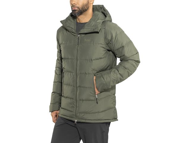 Bergans Stranda Down Hybrid Jacket Herr seaweed/khakigreen